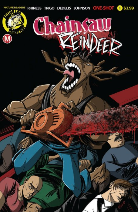 Chainsaw Reindeer #1
