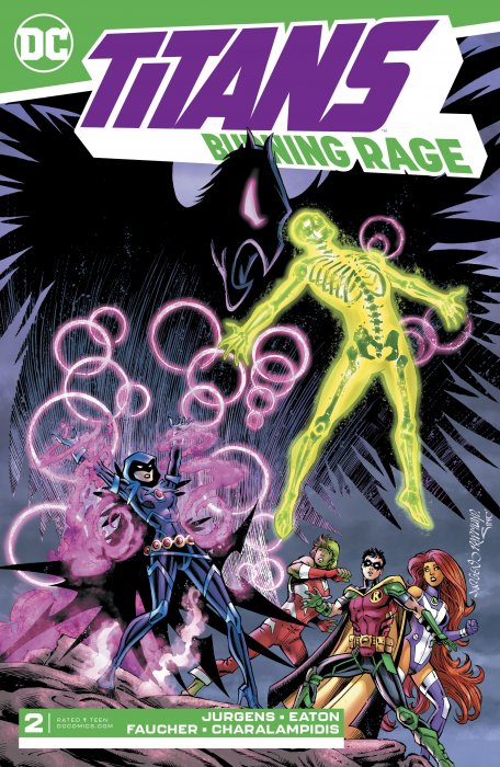 Titans - Burning Rage #2