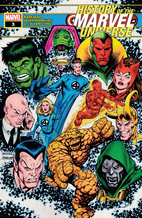 History Of The Marvel Universe #3