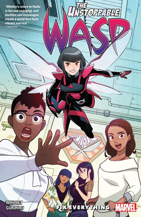 The Unstoppable Wasp - Unlimited Vol.1 - Fix Everything