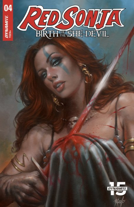 Red Sonja - Birth of the She-Devil #4