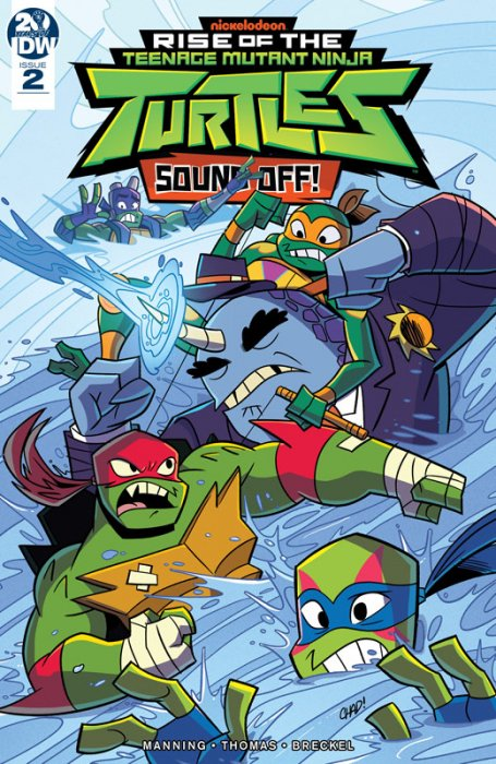 Rise of the Teenage Mutant Ninja Turtles - Sound Off! #2