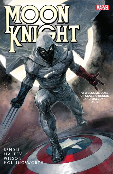 Moon Knight by Brian Michael Bendis & Alex Maleve Collection #1 - HC