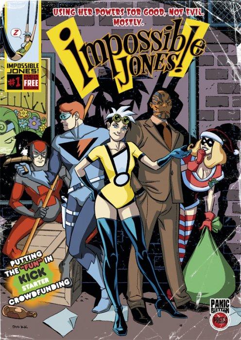 Impossible Jones #1