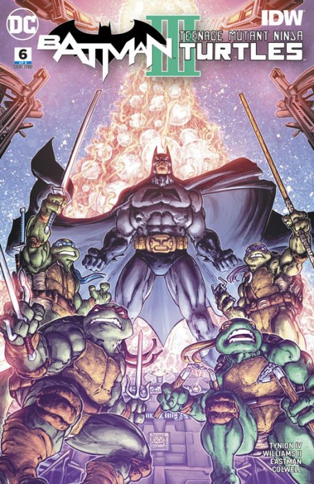 Batman - Teenage Mutant Ninja Turtles III #6