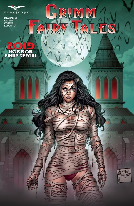 Grimm Fairy Tales 2019 Horror Pinup Special #1