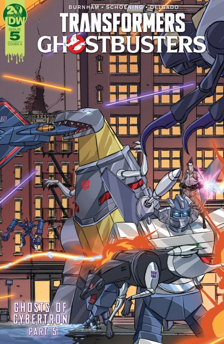 Transformers - Ghostbusters #5