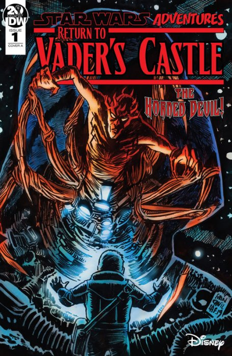 Star Wars Adventures - Return to Vader's Castle #1