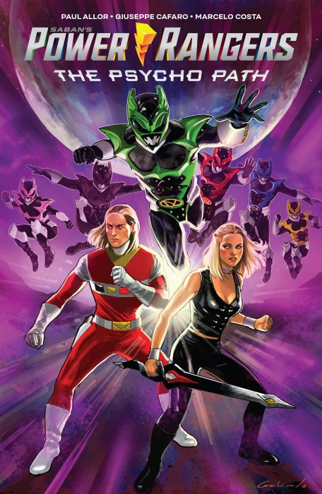 Sabans Power Rangers The Psycho Path #1