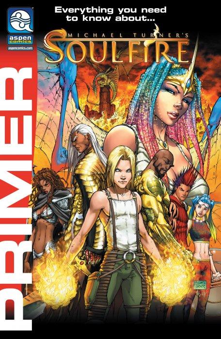 Michael Turner's Soulfire 2018 Primer #1