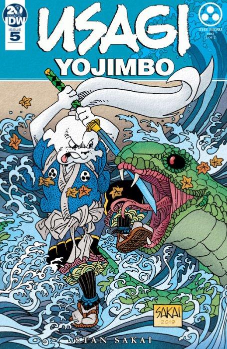 Usagi Yojimbo #5