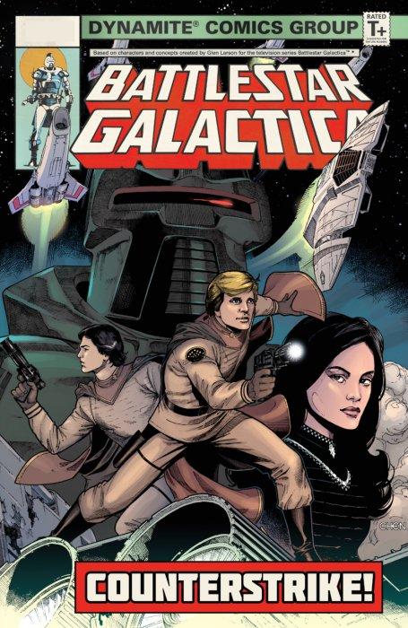 Battlestar Galactica (Classic) - Counterstrike #1 - TPB