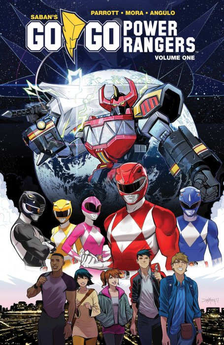 Saban's Go Go Power Rangers Vol.1-3 Complete