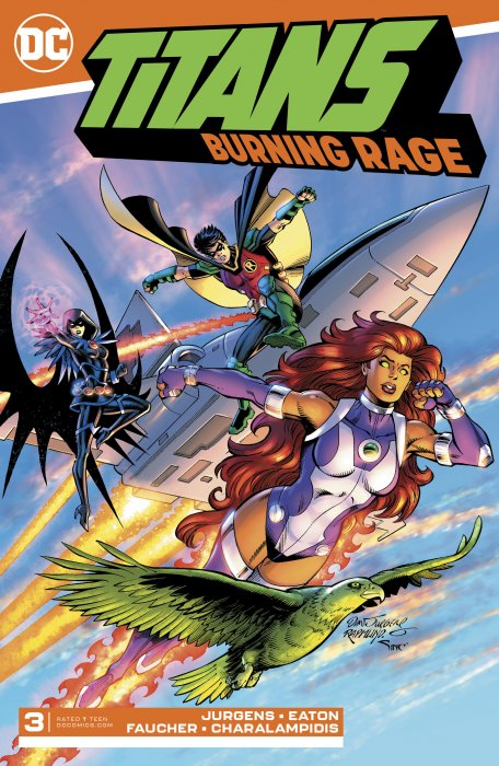 Titans - Burning Rage #3