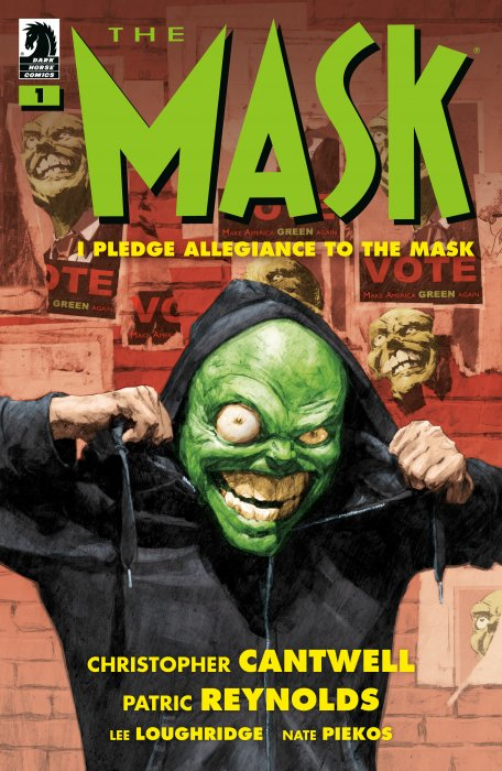The Mask - I Pledge Allegiance to the Mask #1