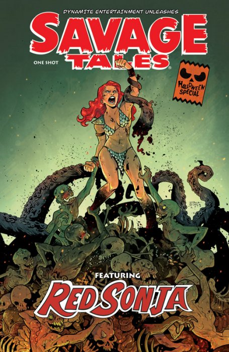 Savage Tales Red Sonja #1