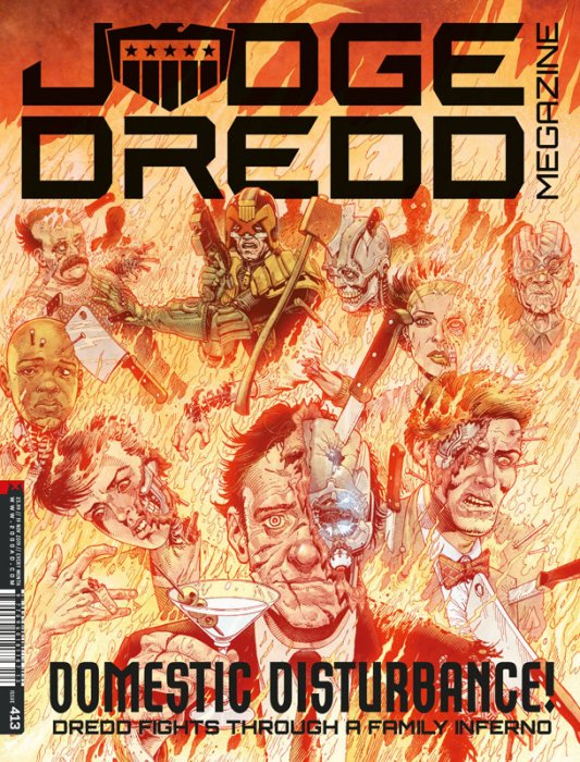 Judge Dredd The Megazine #413