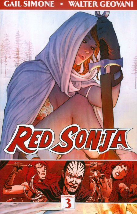 Red Sonja Vol.3 - The Forgiving of Monsters