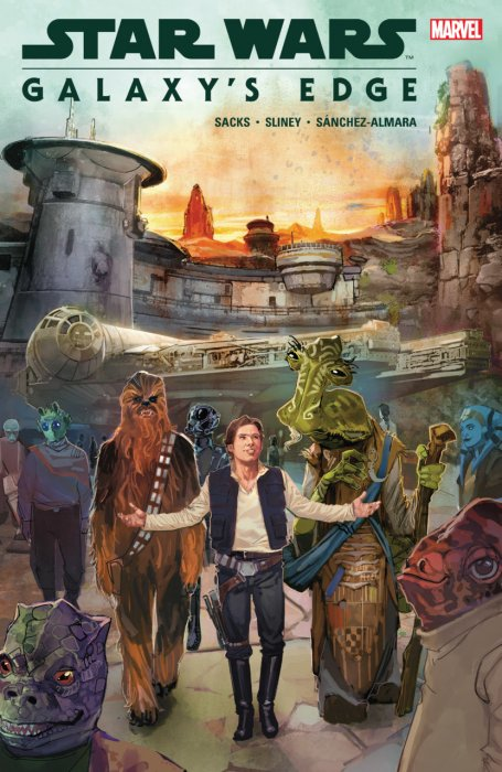 Star Wars - Galaxy's Edge #1 - TPB