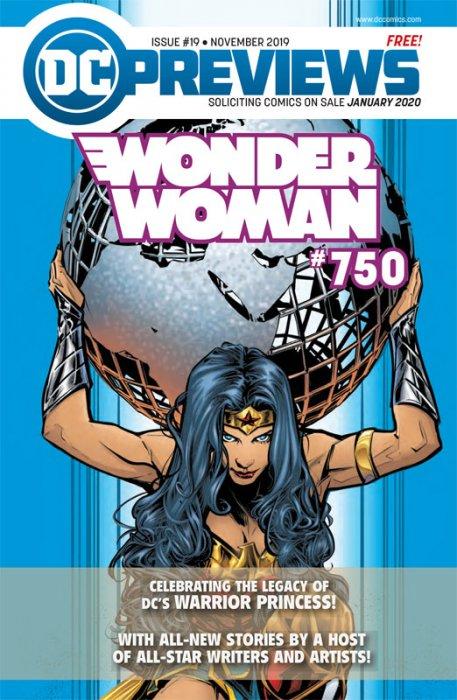 DC Previews #19 (Nov 2019 for Jan 2020)