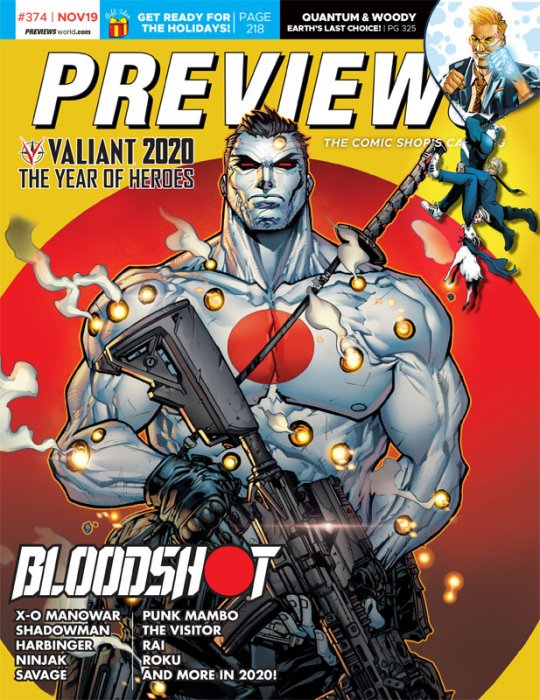 Previews #374 (Nov 2019 for Jan 2020)