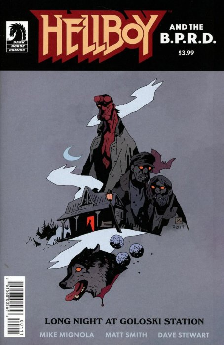 Hellboy and the B.P.R.D. - Long Night at Goloski Station #1