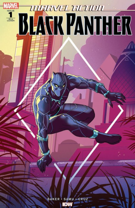 Marvel Action - Black Panther #1