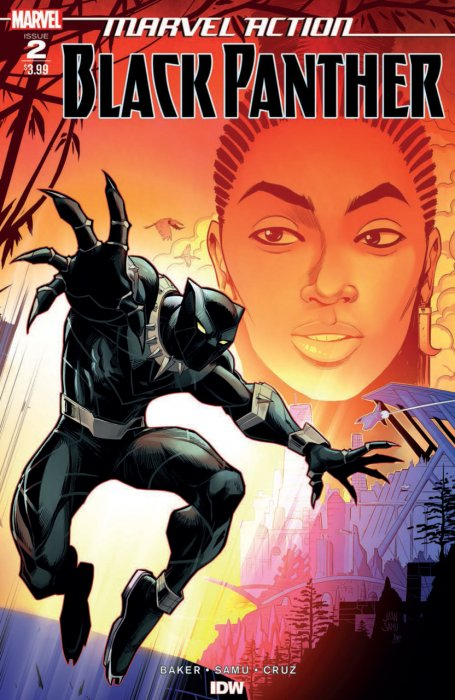 Marvel Action - Black Panther #2
