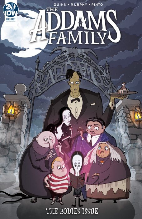 Addams Family - The Bodies Issue #1
