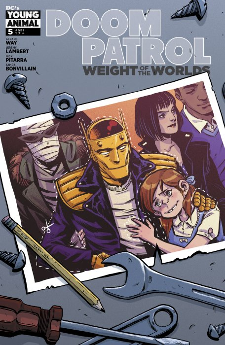 Doom Patrol - Weight of the Worlds #5