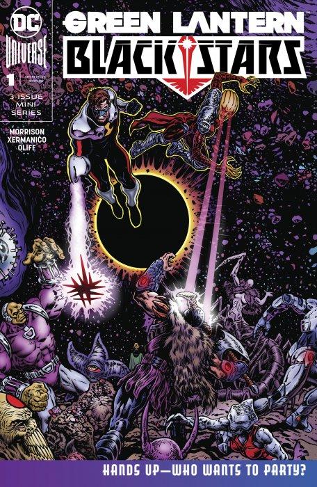 Green Lantern - Blackstars #1