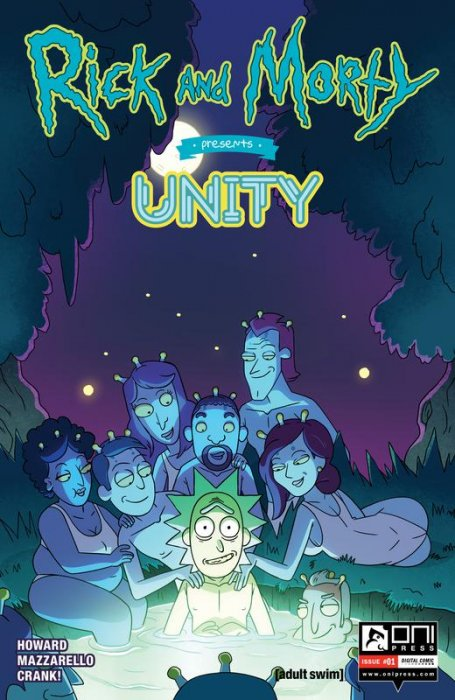 Rick and Morty Presents #8 - Unity