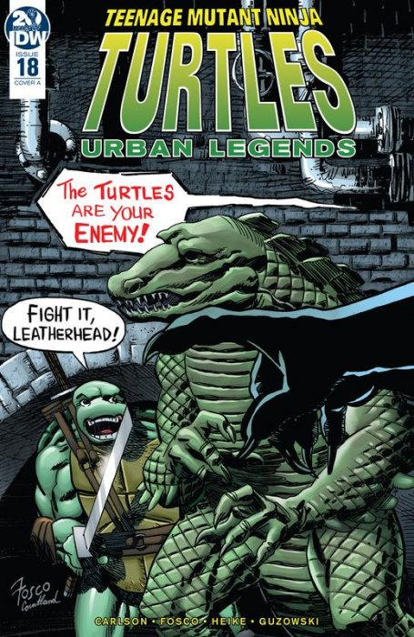 Teenage Mutant Ninja Turtles - Urban Legends #18