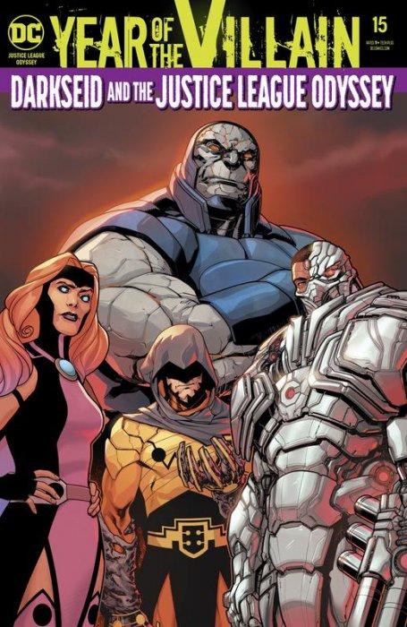 Justice League Odyssey #15