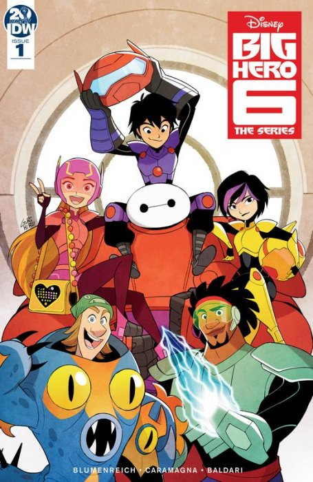 Big Hero 6 - The Series #1