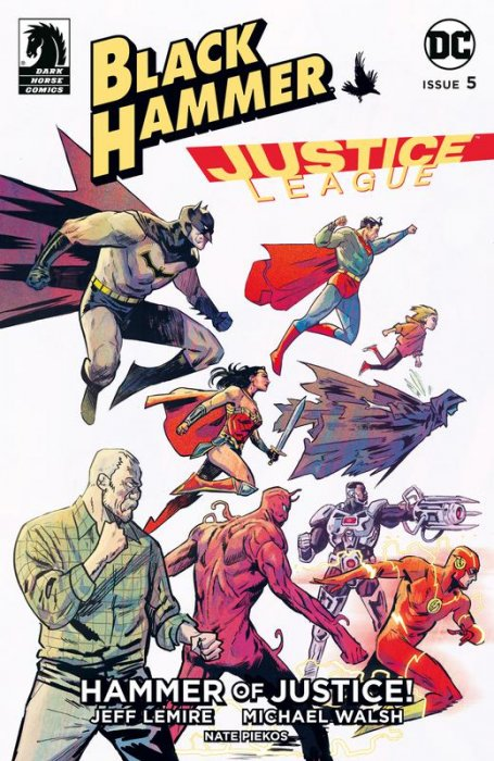 Black Hammer - Justice League - Hammer of Justice! #5