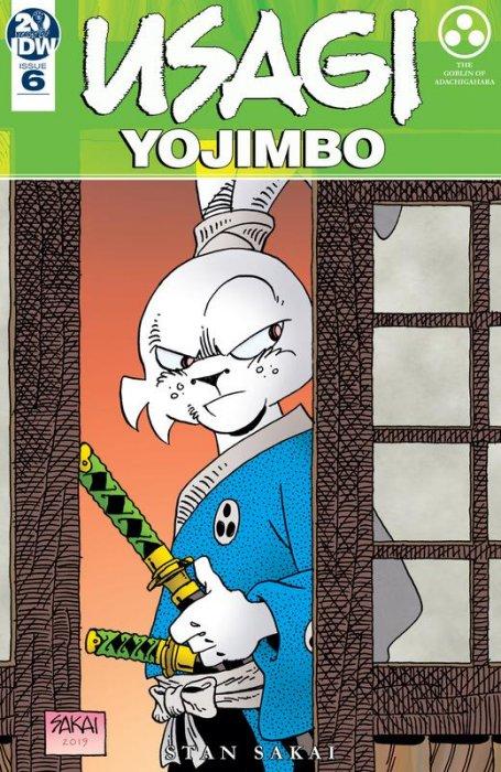 Usagi Yojimbo #6