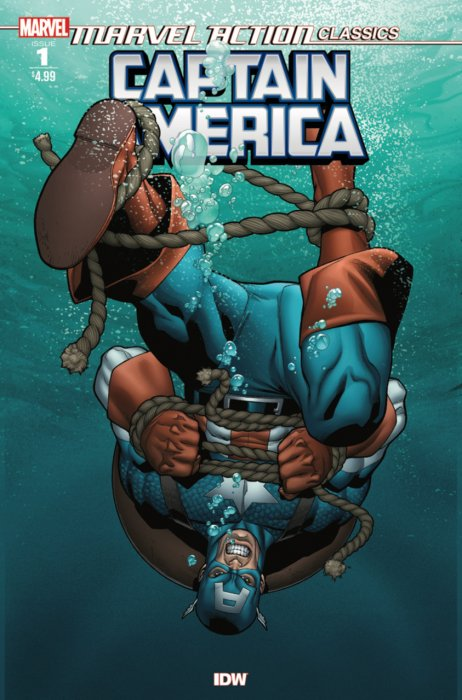 Marvel Action Classics - Captain America #1