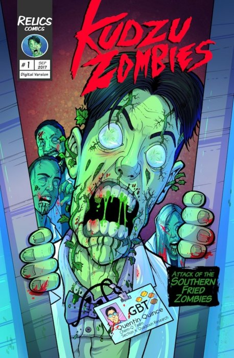 Kudzu Zombies #1 - The Road to Quadoxin