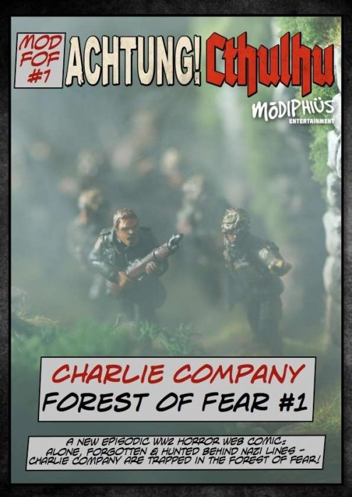 Achtung! Cthulhu - Charlie Company - Forest of Fear #1
