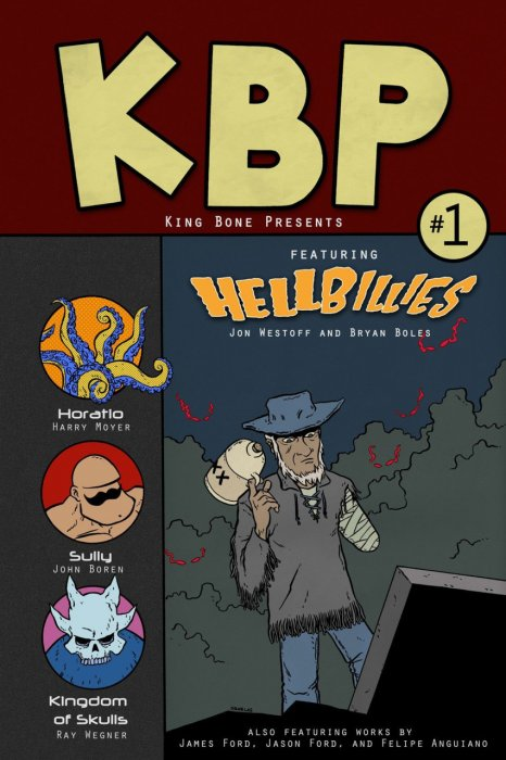 King Bone Presents #1-6 Complete