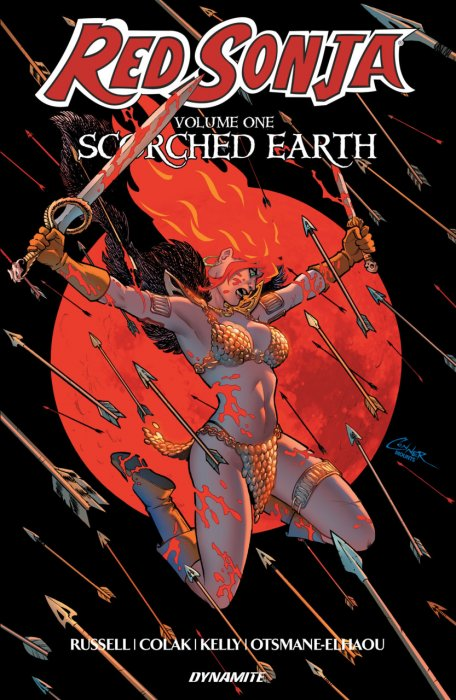 Red Sonja Vol.1 - Scorched Earth