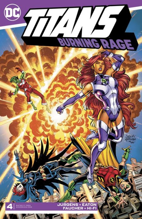 Titans - Burning Rage #4