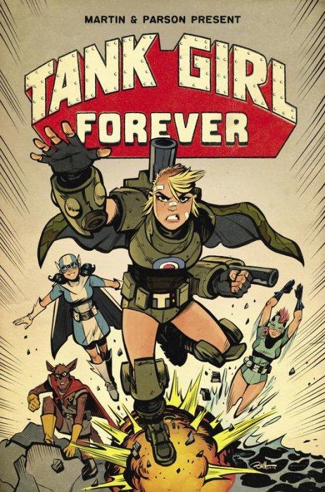 Tank Girl #8 - Tank Girl Forever 4