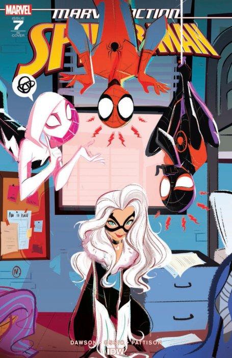Marvel Action Spider-Man #7-11