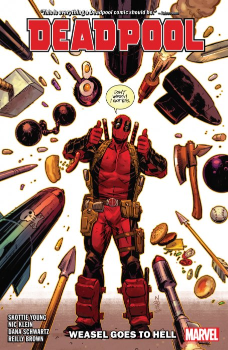 Deadpool by Skottie Young Vol.3 - Weasel Goes To Hell