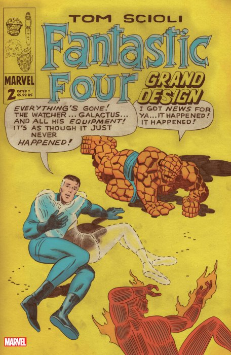 Fantastic Four - Grand Design #2