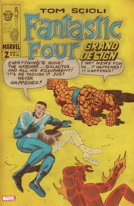 Fantastic Four - Grand Design #2
