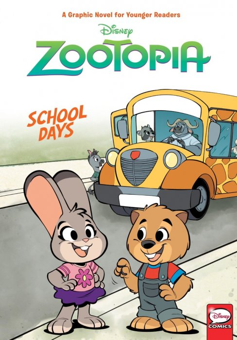Zootopia - School Days #1 - GN