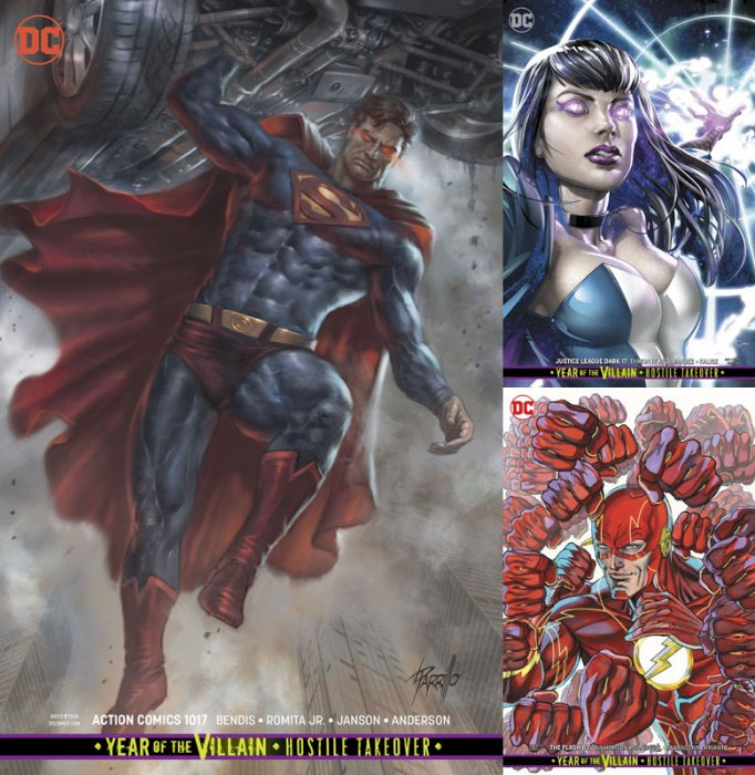 DC Variant Cover pack for 2019-11-27